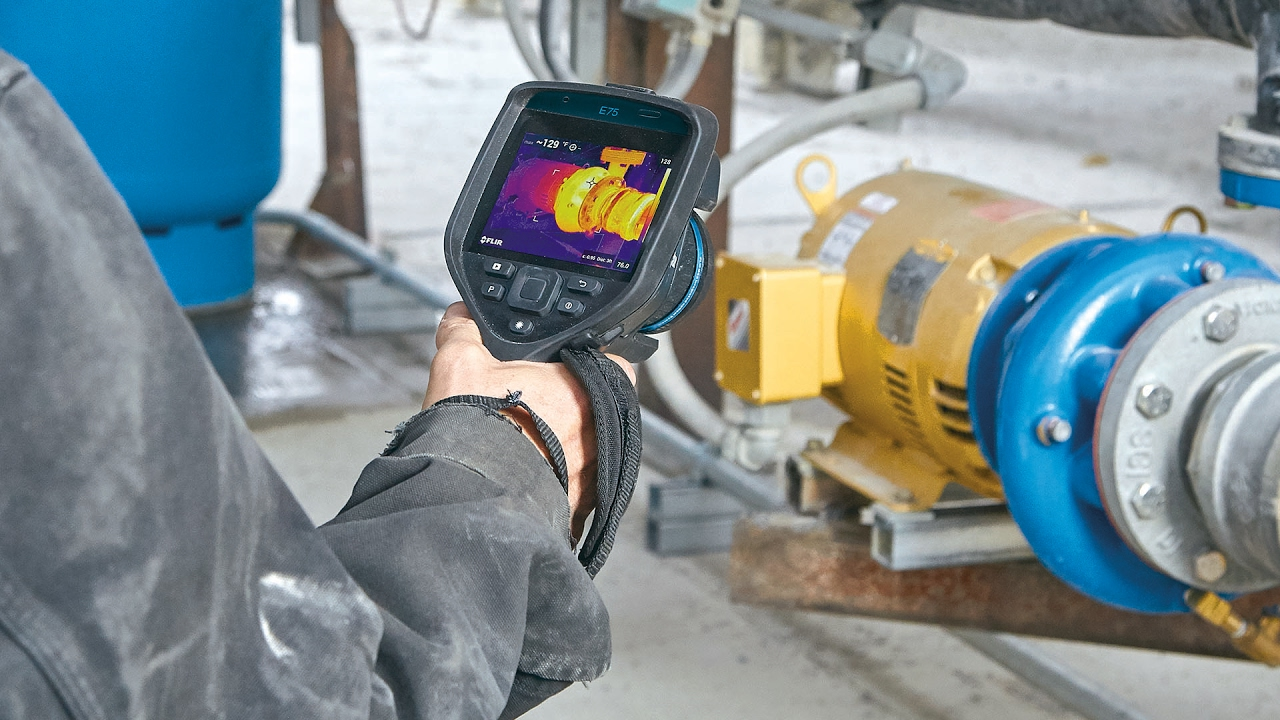 FLIR T911630ACC 3A Power Supply for E75 E85 /& E95 Thermal Cameras