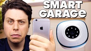 Open Your Garage With Your Phone?! - Asante Smart Garage Camera