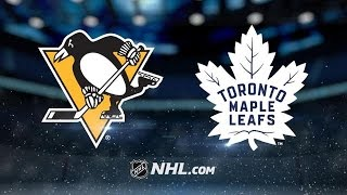 Pittsburgh Penguins vs Toronto Maple Leafs NHL Game Recap