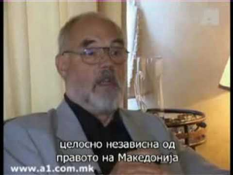 Interview with Hans-Lothar Steppan on the Macedonian question (Full-version with English subtitles)