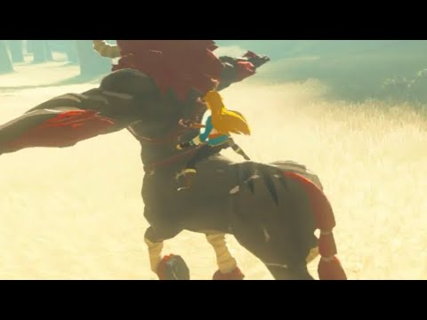 Taming And Riding A Wild Lynel