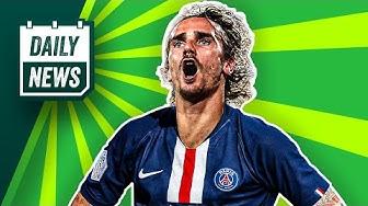 Transfer News: Griezmann zu PSG? Neues vom Sané-Transfer! Belgische Liga abgebrochen!