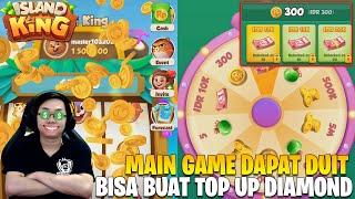 TUTORIAL MAIN GAME DAPAT UANG TUNAI BUAT TOP UP DIAMOND - ISLAND KING GAMEPLAY screenshot 2