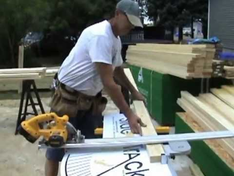 How To Cut Studs With A Saw Table Youtube