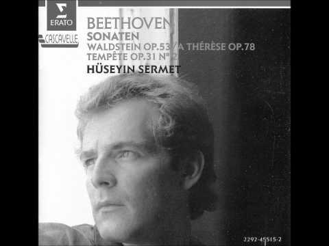 "HUSEYIN SERMET plays BEETHOVEN Sonata No.17 ""Tempest"" (1990)"