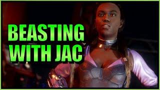 SonicFox - Jacqui Vs KevoDaMan - Part 1  【Mortal Kombat 11】