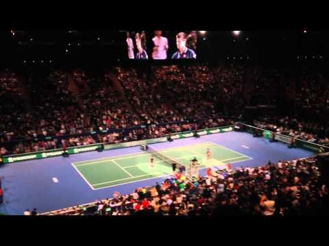 Final ATP / Masters 1000 BNP Paribas Paris-Bercy Novak Djokovic Vs Milos Raonic @ Bercy 02.11.2014