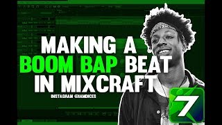How to Make a Boom Bap Beat in Mixcraft | @Iamdices