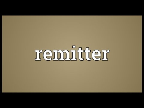 Header of remitter