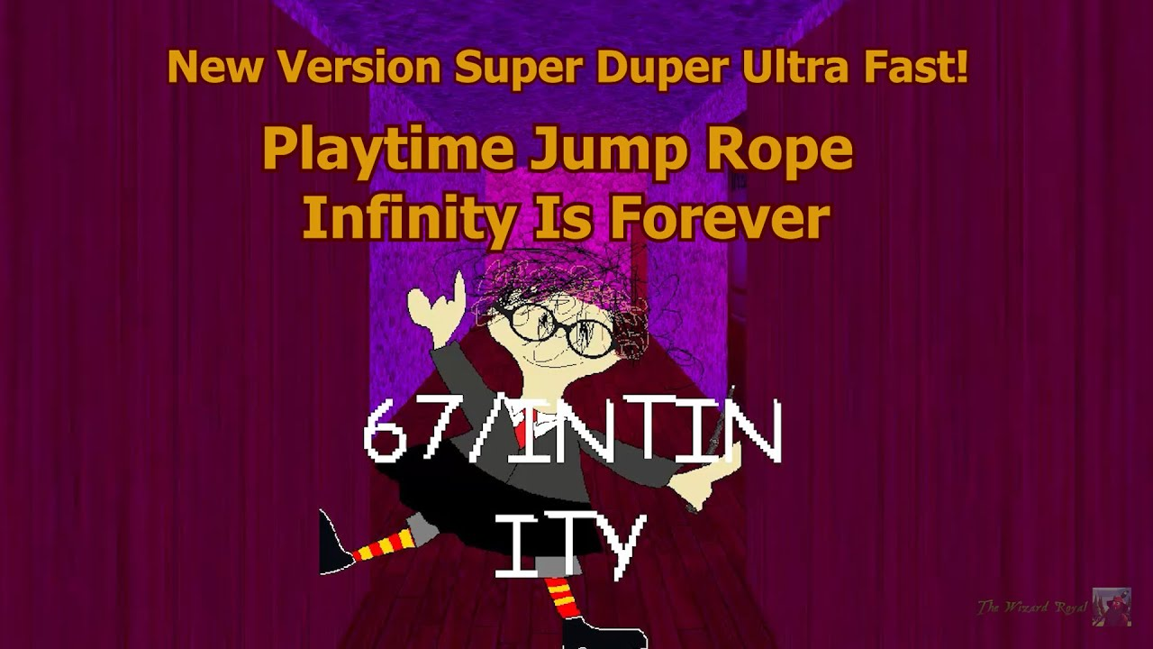 NOW JUMPROPE INFINITY! | Baldi's Basics In Wizard Edition [Baldi's Basics Mod]