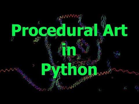 Simple Procedural Art Tutorial in Python thumbnail