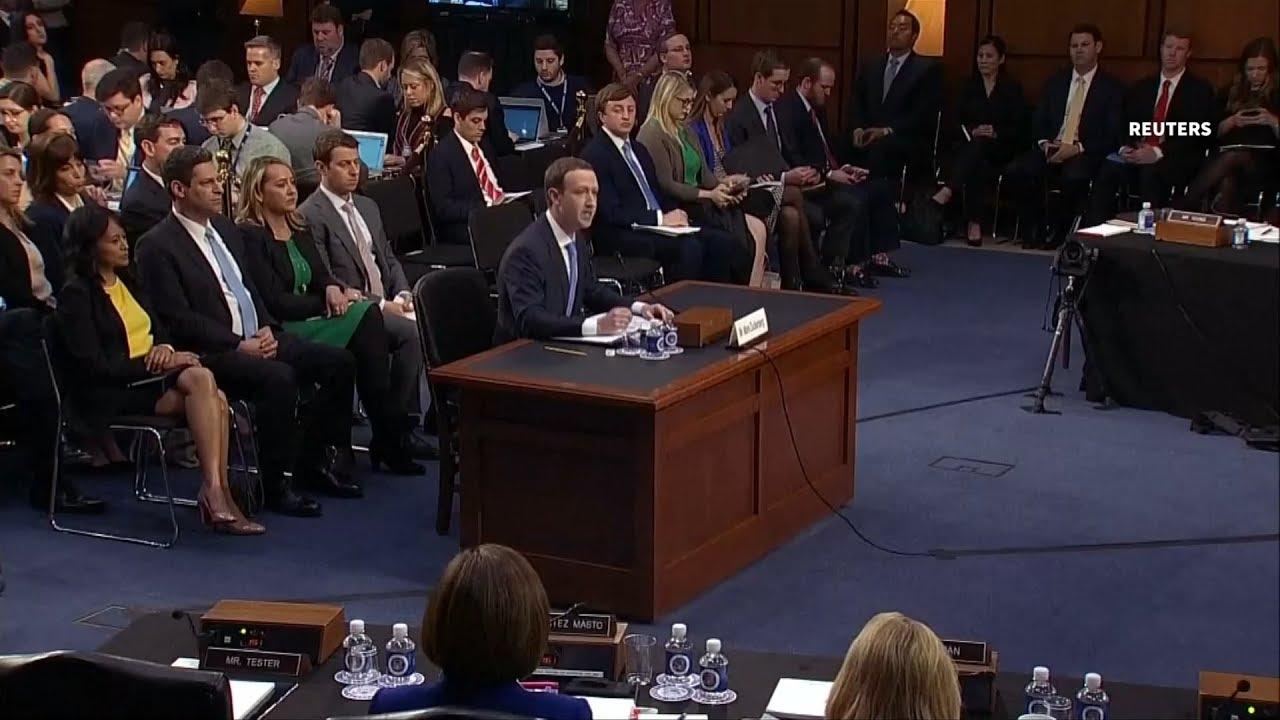 Facebook CEO testifies at  U.S. Senate hearing