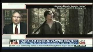 david blanchette discusses the movie abraham lincoln vampire hunter on cnn