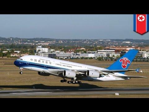 Chinese passenger plane passed through trajectory of North Korean rocket