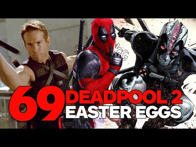 Buy Diary Of A Roblox Deadpool High School Roblox Deadpool - Spoilers 69 Deadpool 2 Easter Eggs Trivia And References Youtube