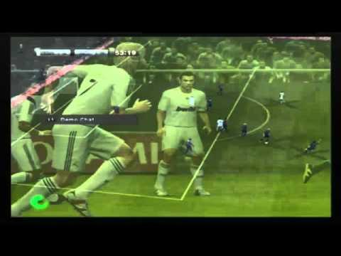 Błąd gry - rzut wolny PES 2011