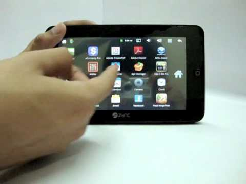 Zync Z909 Plus Android Tab Review (Hindi)