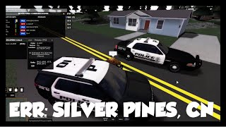 BEST POLICE GAME ON ROBLOX (ERR: Silver Pines, CN)