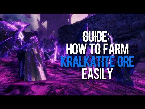 Guide: How To Farm Kralkatite Ore Easily