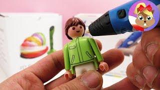 Figurka Playmobil robiona długopisem 3D? Uda się?