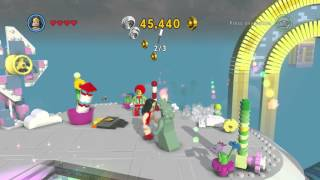 The LEGO Movie Video Game - Lady Liberty Gameplay and Unlock Location Firestarter Achievement