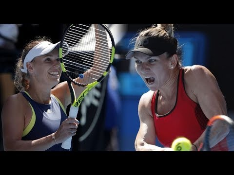 Simona Halep vs Caroline Wozniacki - Australian Open 2018 Final Highlights