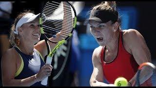 Simona Halep vs Caroline Wozniacki - Australian Open 2018 Final Highlights