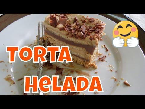 Receta de Torta Helada con Galletas María