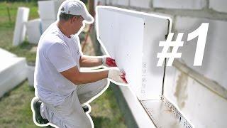видео Утепление дома пенопластом снаружи: технологии монтажа