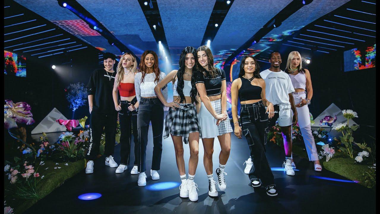 Behind The Scenes at the Social Tourist Vol 2 TikTok Fashion Show | Charli D'Amelio