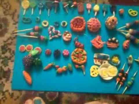 Куклы как сделать пластилин 222