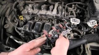Автосервис AutoLand Моторная 57. ТО топливной системы.(Автосервис AutoLand Моторная 57: компьютерная диагностика, диагностика электрики, регулировка развал-схождения..., 2012-06-16T15:02:05.000Z)