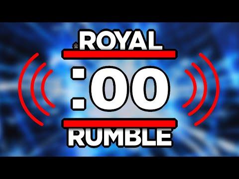 WWE Royal Rumble Buzzer Sound Effect Challenge
