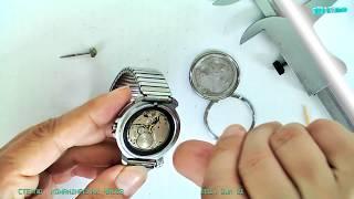 commander's watch glass. стекло командирских часов