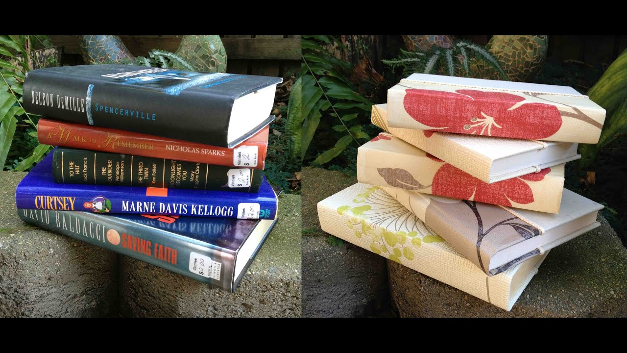 home decorating ideas books how to re cover hardcover books for home decor 11306