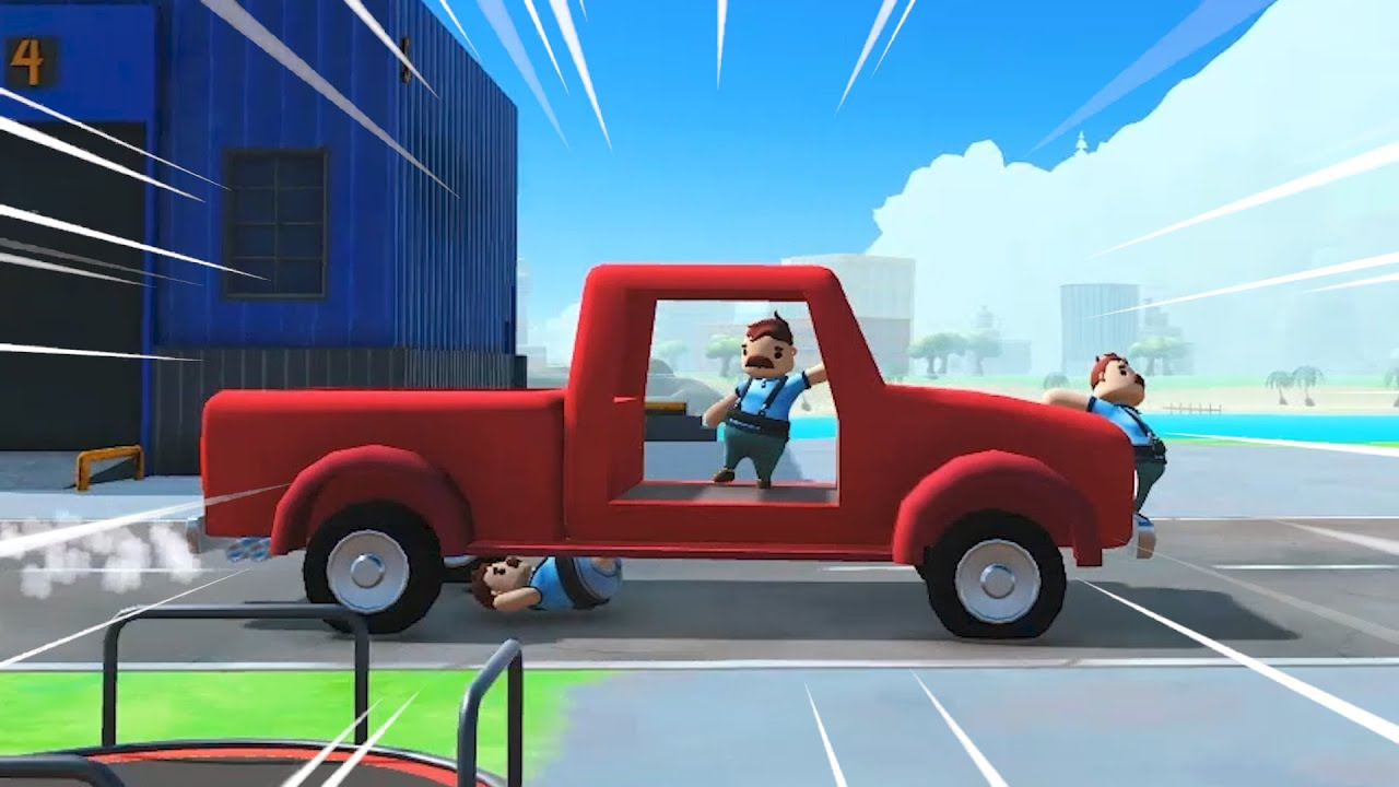 THE GOOFIEST AMAZON SIMULATOR - Totally Reliable Delivery Service