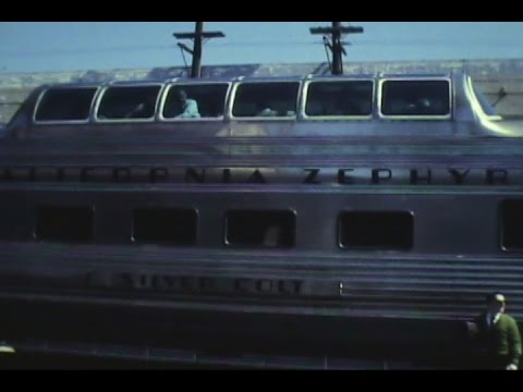 TAKE A RIDE ON THE OLD CALIFORNIA  ZEPHYR 1969 OR 70
