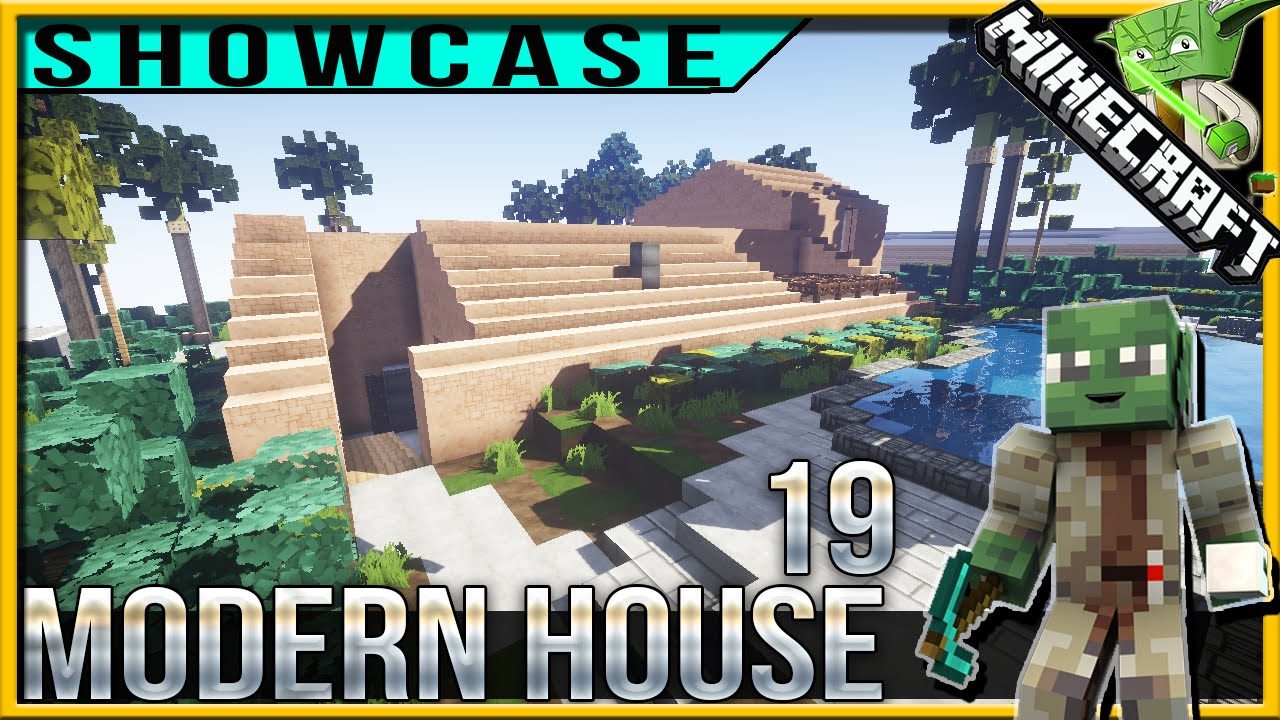 Minecraft Modern House 19 ft Keralis YouTube