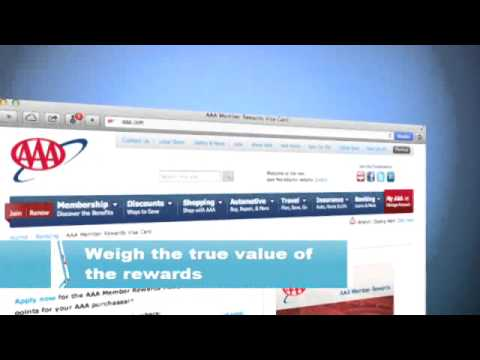 AAA - Make the most of reward credit cards