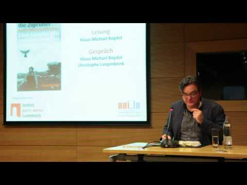Institut Pierre Werner: Klaus-Michael Bogdal - Lesung/Lecture