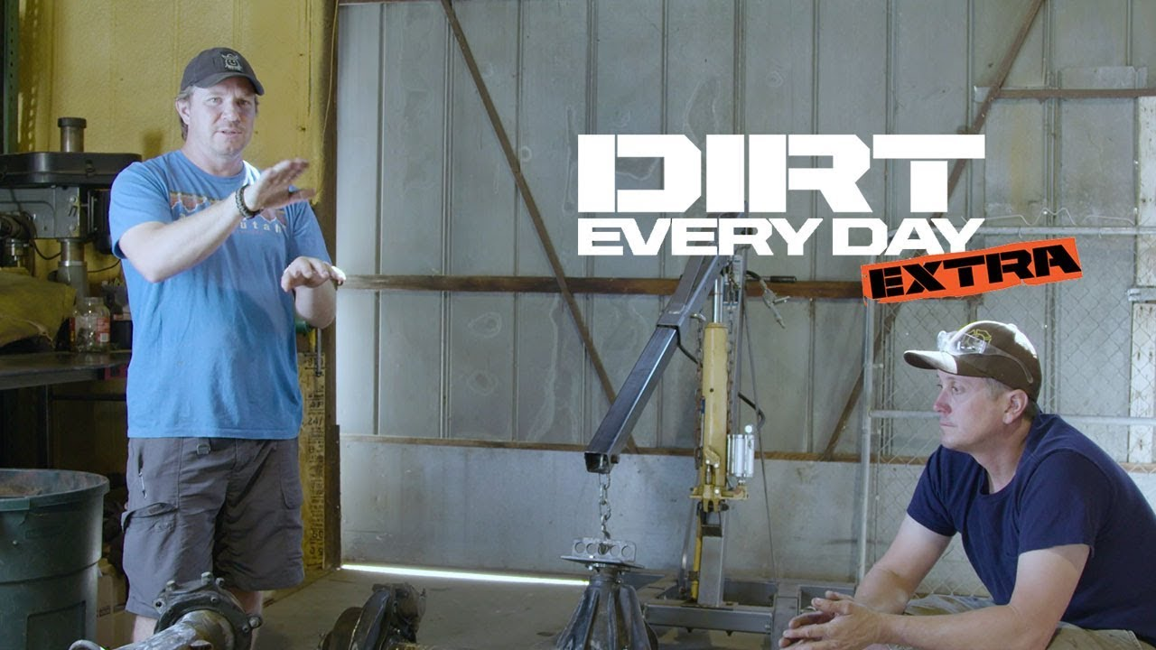 How Toyota Land Cruiser Axles Work - Dirt Every Day Extra