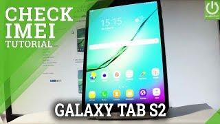 SAMSUNG Galaxy Tab S2 CHECK SERIAL NUMBER