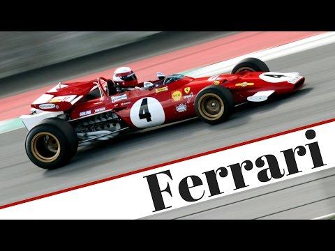 1970 Ferrari F1 312 B ex Clay Regazzoni - Flat-12 engine, Pure Sound!