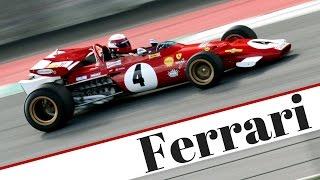 1970 ferrari f1 312 b ex clay regazzoni flat 12 engine pure sound