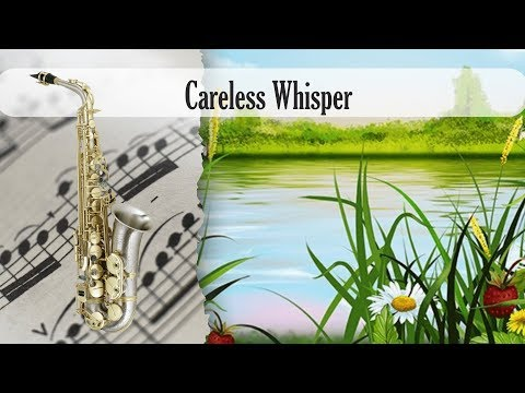 Partitura George Michael - Careless Whisper Saxofón Alto
