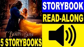 5 Beauty and the Beast Read Along Story books | Read Aloud Story Books for Kids | 5 Story books