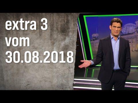 Extra 3 vom 30.08.2018 | extra 3 | NDR