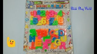 A to Z Alphabet's/ learning alphabets and numbers # learn ABC'S with Palak play world.