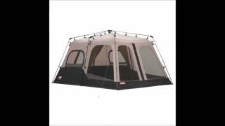 Review - Coleman 8 Person Family CAMPING TENT 14 x 10 Feet Two Room INSTANT & Coleman 8 Person Instant Tent price in Saudi Arabia | Compare Prices