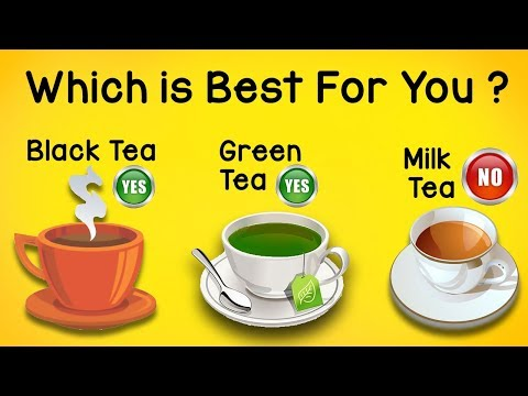 Which is best for You? | MILK Tea or BLACK Tea or GREEN Tea | Tea Explanation | Best Tea